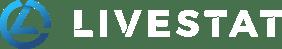 Livestat logo white - RGB